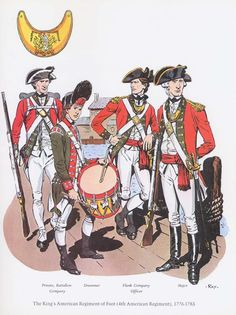 British; The King's American Regiment of Foot(4th American Regiment, 1776-1783