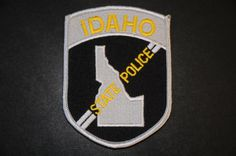Idaho State Police Patch (Current Issue) - States Display