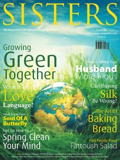 SISTERS Magazine May 2014 | Issue 56 | Going Green