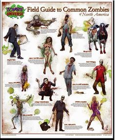 field guide to common zombies