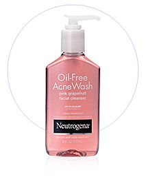 Neutrogena acne wash - Can't live without it!