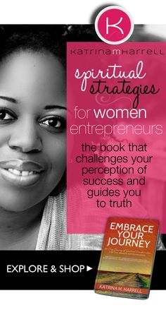 I'm celebrating today! Women entrepreneurs. Women who risk it all to live a life according to their desires and dreams. Who fight daily to  manifest the visions God gave to them while still learning to be a better person, wife, friend, mother, sister. Where do we go for spiritual healing?  Did you get your Free Preview Chapter yet of this powerful groundbreaking book written specifically for the Unique Journey of the women entrepreneur? visit --> www.embrace-your-journey.com for a FREE…