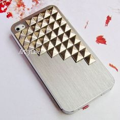 Brushed iphone 6 case, silver iphone 5 skin, aluminium iphone 4 cover, iphone 6 plus phone case – ArtifyCase