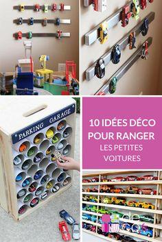 10 id es et astuces pour ranger les jouets pi ces de - Deco chambre enfant voiture ...