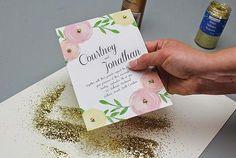 Invitaciones florales imprimibles para tu boda: románticas y primaverales para tu boda