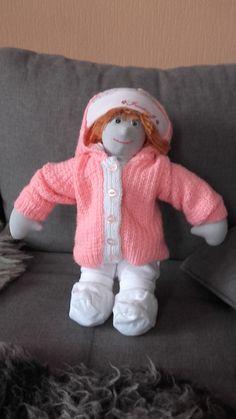Lalka , gotowa i ubrana