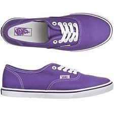 5719ba1cdb32 NIB Vans Authentic Lo Pro Royal Purple True White Women Shoes