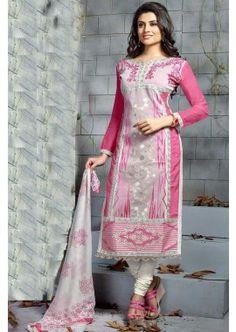 couleur rose clair churidar Chanderi costume, -  73,00 €,  #Tenueindienne  #Salwarkameez  #Salwarkameezmariage  #Shopkund