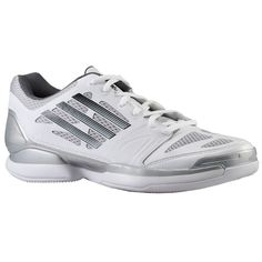 adidas Womens Crazy Light Volleypro W WhiteBlackMetallic Silver 9 B Medium -- See this great product. (This is an affiliate link) Cool Womens Sneakers, Foot Locker, Adidas Women, Running Shoes, Adidas Sneakers, Jordans, Vans, Footwear, Black And White