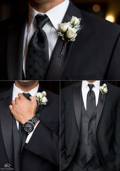 Groom Details © Matt Ramos Photography - trade in the tie for a Tardis blue one and we'll be set. ;)