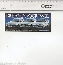Decal/Sticker - Drie Fords voor twee Ford | eBay