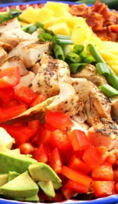 Caribbean Cobb Salad