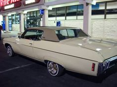 My old 69 Impala low rider.