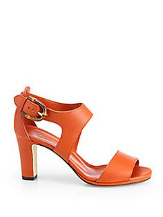 Gucci - Nadege Leather Strappy Sandals in brown