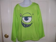 Disney Pixar Monsters University Pajama Shirt Size M Boy's NWOT  #Disney #PajamaTop