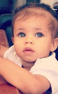 Cutest Mixed Baby Girl In The World
