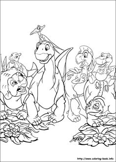 Land before time coloring pages print During the age of the dinosaurs, a massive famine forces several herds of dinosaurs to seek an oasis known as the Great. Dinosaur Coloring Pages, Cartoon Coloring Pages, Disney Coloring Pages, Animal Coloring Pages, Coloring Book Pages, Printable Coloring Pages, Coloring Pages For Kids, Coloring Sheets, Land Before Time