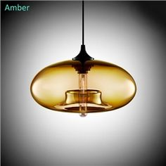 New Simple Modern Contemporary hanging 6 Color Glass ball Pendant Lamp Lights Fixtures for Kitchen Restaurant Cafe Bar Cheap Pendant Lights, Modern Pendant Light, Glass Pendant Light, Chandelier Pendant Lights, Glass Pendants, Pendant Lamp, Vintage Chandelier, Pendant Lighting Bedroom, Glass Ball