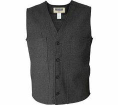 Men's Stormy Kromer Wool Button Vest GRAY L Stormy Kromer. $124.92