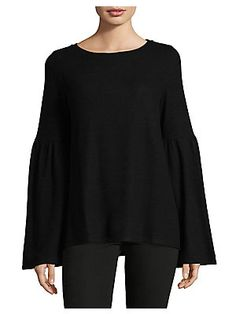 Lord & Taylor Bell Sleeve Blouse