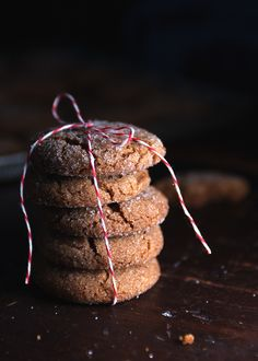 {Bacon fat. In cookies. Oh yes.} Bacon Fat Ginger Snaps | The Tart Tart