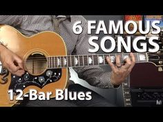 In this lesson you will learn all about a top 6 famous songs built on the 12 bar blues progression and how you can play them also! For more guitar help and f. Acoustic Guitar Notes, Guitar Chords And Lyrics, Guitar Songs, Acoustic Guitars, Blues Guitar Lessons, Guitar Tips, Blue Song, Guitar Tutorial, Best Vibrators