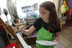 http://GoldenKeyArt.com Art lessons for kids.   Photo by Vladimir Vasilyev