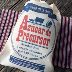 You asked for it… And here it is! The SPANISH Pioneer Sugar bags! —— Te gusta?