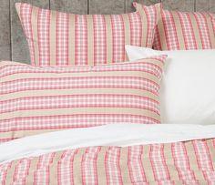 Ribbon Stripe Quilt Cover Set - Laura Ashley Home - Laura Ashley