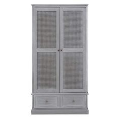 Lucy Cane Grey Gents Wardrobe Best Picture For rattan baskets decor For Your Taste You are looking for something, and it is going to tell you exactly what you are looking for, and you didn't find that White Wardrobe, Wardrobe Doors, Porch Storage, Storage Spaces, Wardrobes Uk, Tall Cabinet Storage, Locker Storage, Cane Baskets, Rattan Basket