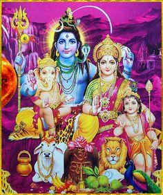 Shiva Parvati Images, Shiva Hindu, Shiva Art, Shiva Shakti, Hindu Deities, Hindu Art, Ganesha Art, Durga Maa, Krishna Radha