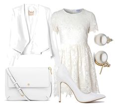 """вся в белом))"" by re-86 on Polyvore featuring мода, Glamorous, Rebecca Taylor и Tory Burch"