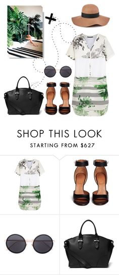 """To the heat."" by vigilexi ❤ liked on Polyvore featuring TIBI, Givenchy, Linda Farrow, Alexander McQueen, Reiss, women's clothing, women, female, woman and misses"