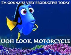 My thought everytime I got into my garage! #motorcycle #bikerhumor #bikerlife