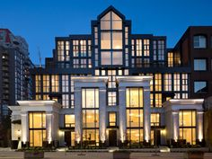 Artemisia | Gallery  James Schouw is the Best Building Designer in Vancouver. Ahead of his time!!! His buildings are Iconic