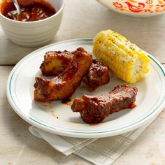 """Calgary Stampede Ribs Recipe -""""More, please!"""" is what I hear when I serve these zippy, finger-licking ribs to family or guests. The first time my husband and I tried them, we pronounced them """"the best ever."""" The recipe has its roots in the Calgary Stampede, an annual Western and agricultural fair and exhibition in our province. —Marian Misik, Sherwood Park, Alberta"""