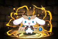 Angel Cinnamon - Puzzle & Dragons Wiki - Wikia Sanrio Characters, Disney Characters, Puzzles And Dragons, Character Wallpaper, Paper Cutting, Sonic The Hedgehog, Cinnamon, Angel, Christmas Ornaments