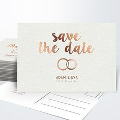 the date cards for your wedding - Papeterie -Save the date cards for your wedding - Papeterie - Gold Foil Wedding Save the Date Modern Elegant by JPstationery P R I N T E D Destination Wedding Invitations, Floral Wedding Invitations, Wedding Invitation Cards, Bridal Shower Invitations, Wedding Cards, Diy Birthday Invitations, Funny Birthday Cards, Wedding Save The Dates, Save The Date Cards
