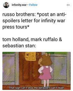 Spoiler Bros - Tom Holland - Spiderman - Mark Ruffalo - Hulk - Sebastian Stan - Bucky - Infinity War