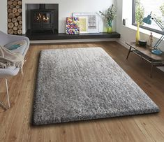 Wrought Studio Sauve Handmade Shag Gray Area Rug Rug Size: Rectangle x Wool Area Rugs, Blue Area Rugs, Cream Area Rug, Rectangular Rugs, Carpet Stains, Online Home Decor Stores, Modern Rugs, Outdoor Rugs, Entryway Decor