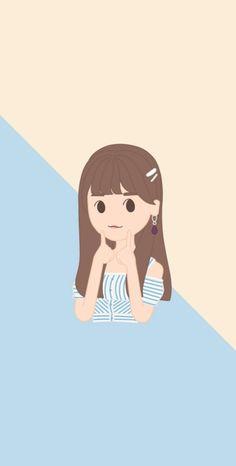 Yuri Gif, Kpop Fanart, Beautiful Sky, Tumblr, The Wiz, Anime Chibi, Cartoon Wallpaper, First Photo, Wall Collage
