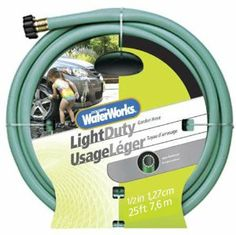 Awesome Colorite Light Duty WC1012025 1/2 Inch X 25 Foot Green Garden Hose