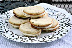 Lavender and Lemon Sandwich Cookies