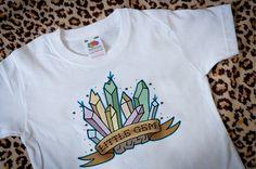 Tattoo Flash Little Gem  Tshirt & Bodysuit by borntobewildbabies, £8.00