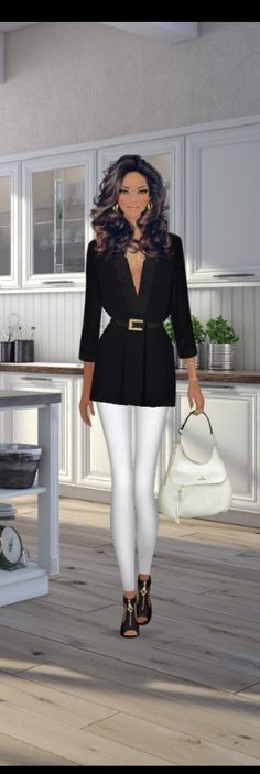Top Look for the Hamptons Hostess event in #covetfashion styled by ILuvMyMaryKayMakeUp. Wearing a Rachel Zoe swing top, J Brand jeans and #KatMaconie Jessica shoes.