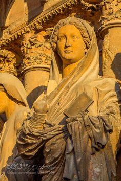 Popular on 500px : Vierge de la Visitation by Vincent_Zenon