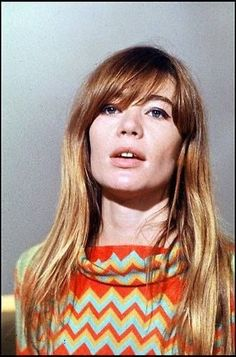 2015 Hairstyles, Cool Hairstyles, French Icons, Françoise Hardy, 60s And 70s Fashion, Jane Birkin, Female Singers, Creative Photography, Face And Body