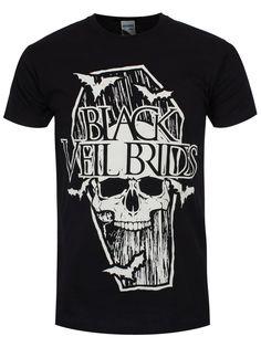 Black Veil Brides Fallen Angel Ladies Black T-Shirt | Angels, T ...