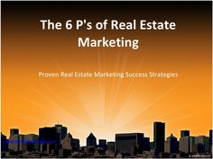 Real Estate Presentation - Marketing Strategies by Pre-Listing Package, LLC via slideshare