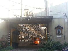 Antico deposito Atm Tram in Milan,via Cesare Correnti